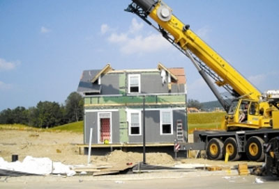 Green home moves from NY to Hardyston